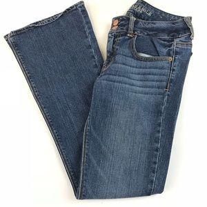 AEO American Eagle Womens Jeans 2 SHORT Artist